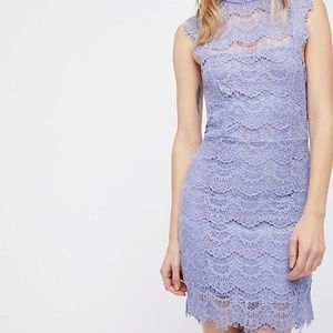 FP Daydream Bodycon Lace Backless Slip Dress